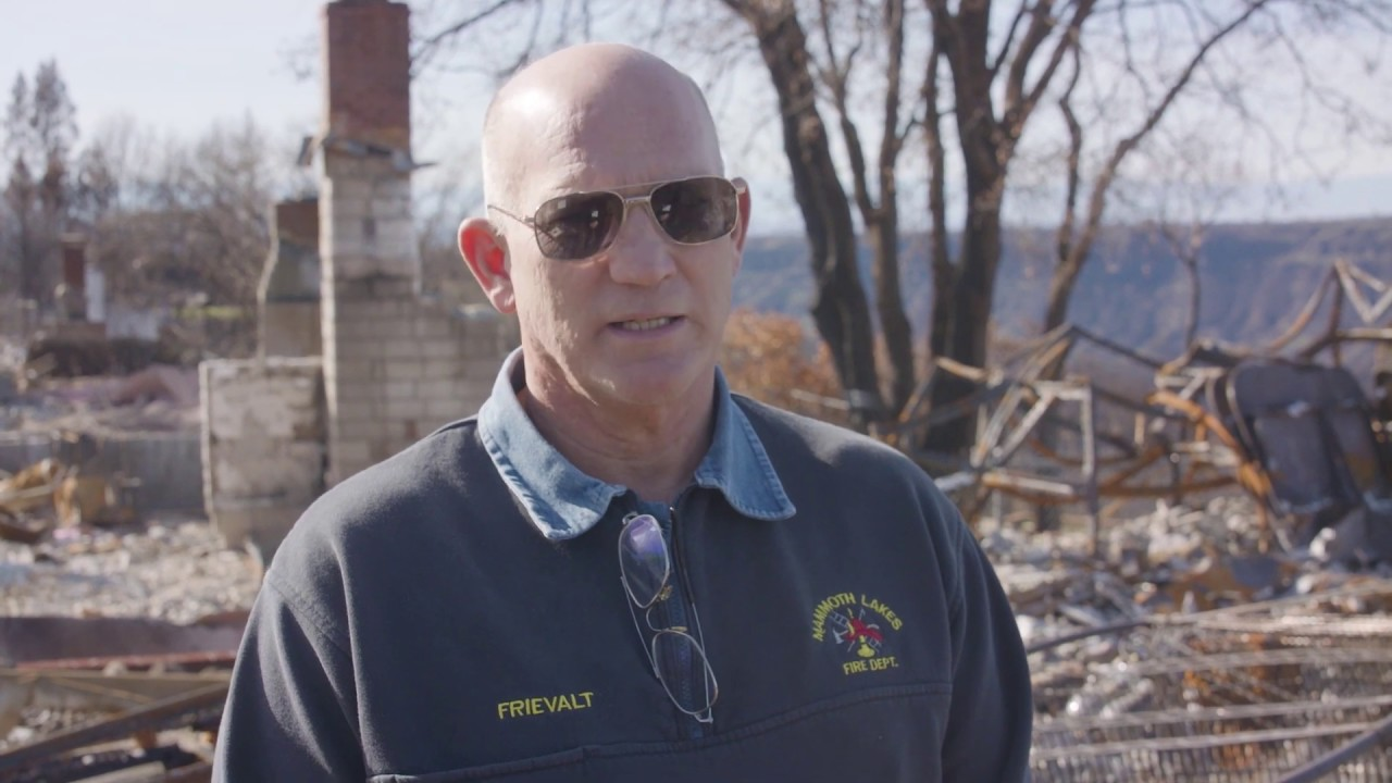 WILDFIRE RESPONSE: A CONVERSATION WITH CHIEF FRIEVALT